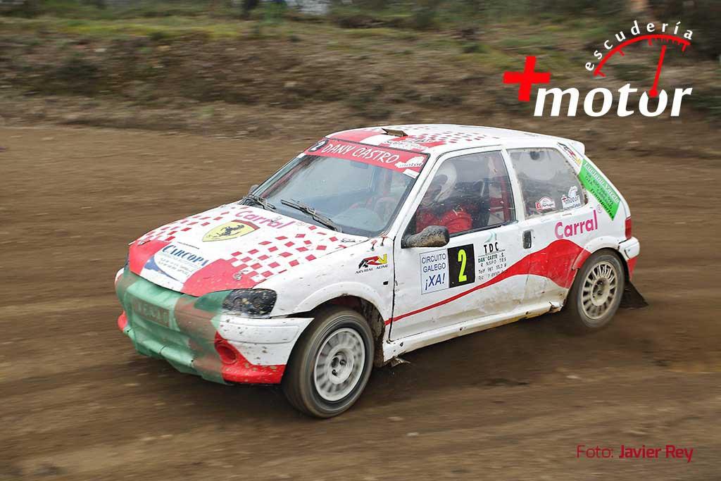 Dani Castro, gañador na categoría -1.600cc