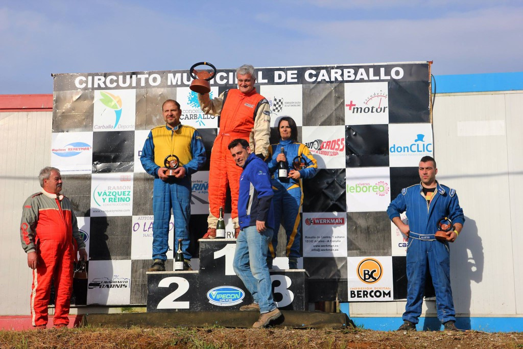 Podium 4x4 V Autocross Carballo