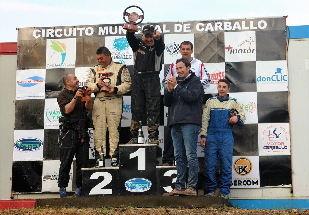 Podium mas 1600 V Autocross Carballo