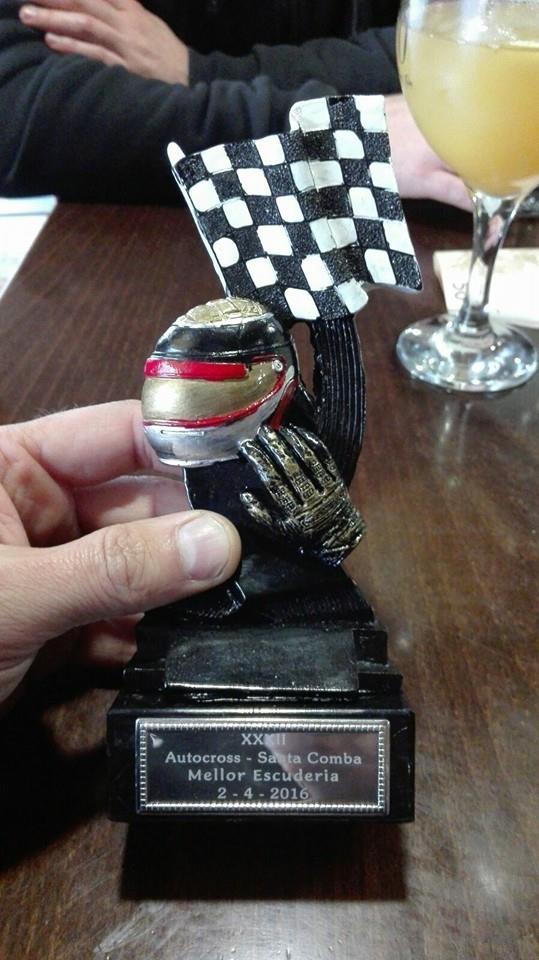 Trofeo Escudereria gañadora